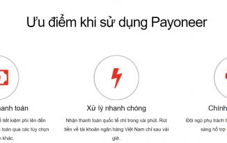 Ưu điểm của thẻ Payoneer