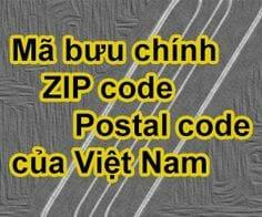ma-zipcode-cac-tinh-thanh-viet-nam