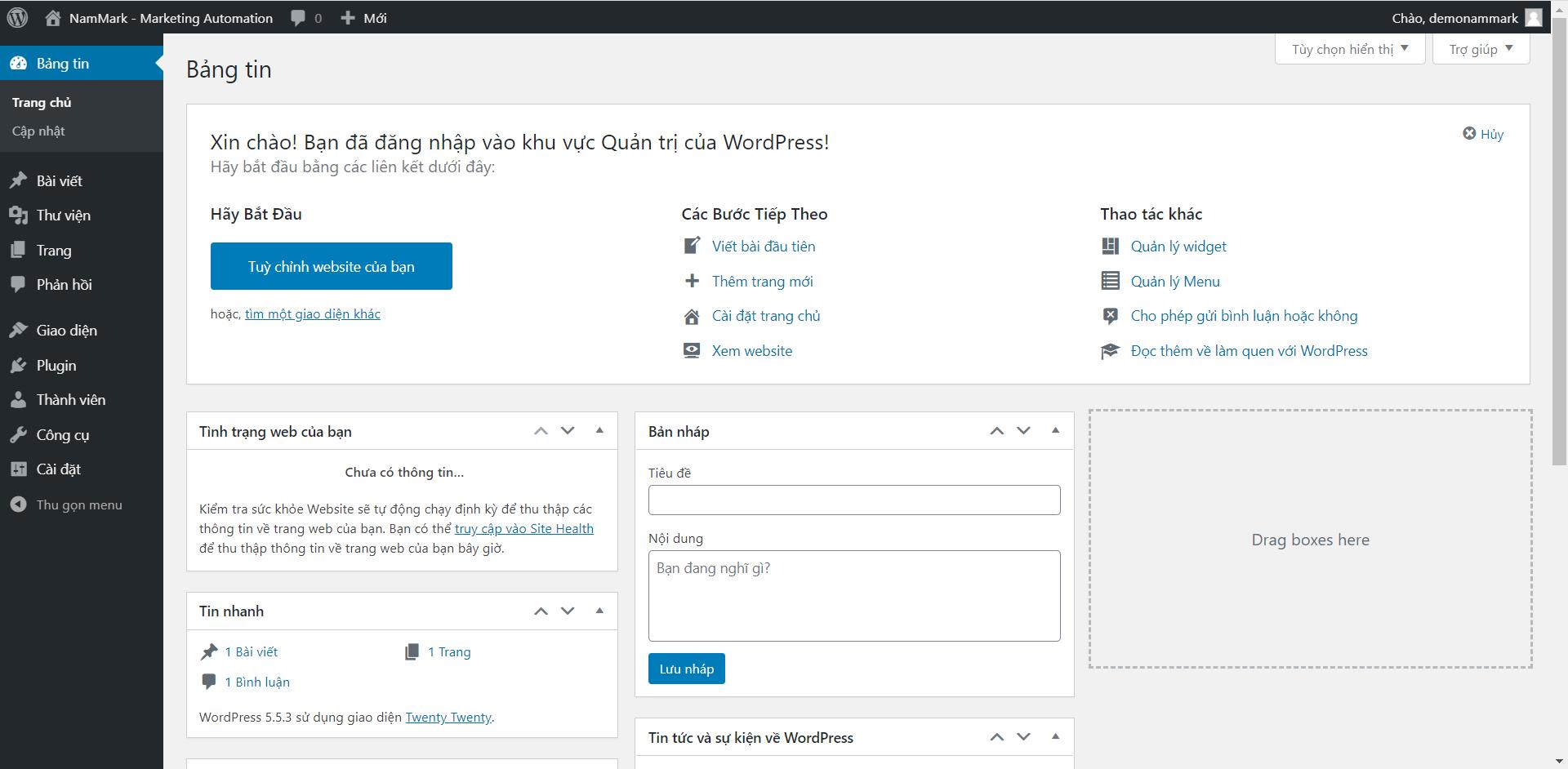 website-wordpress-tren-may-ao-vps-vultr